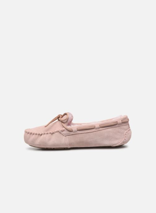 Loafers UGG Dakota Pink front view