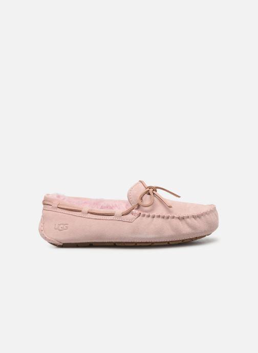 Loafers UGG Dakota Pink back view