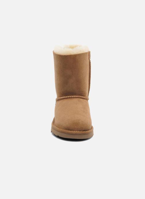 Bottes UGG Bailey bow Marron vue portées chaussures