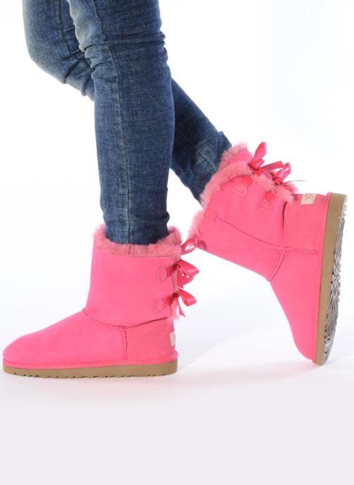 Støvler & gummistøvler UGG Bailey bow Pink se forneden