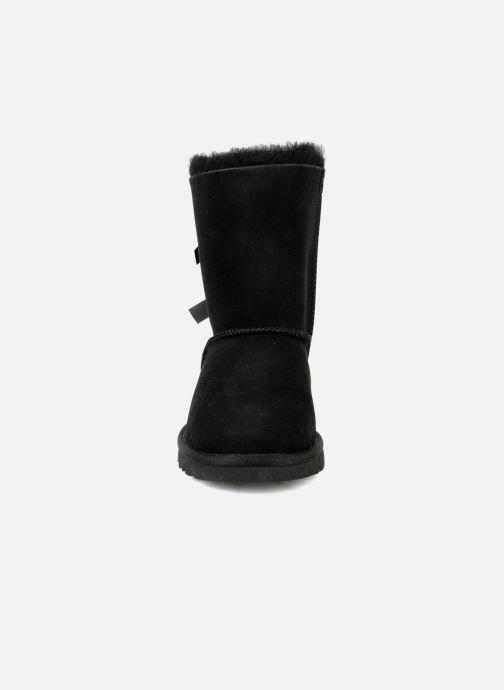 Bottes UGG Bailey bow Noir vue portées chaussures