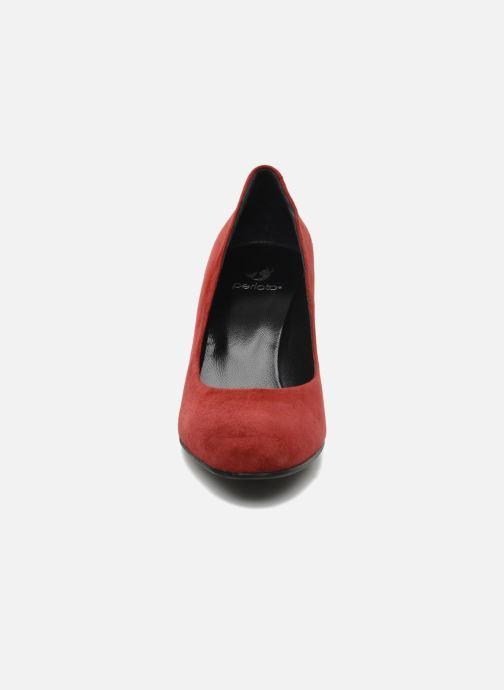 Zapatos de tacón Perlato Cid Rojo vista del modelo