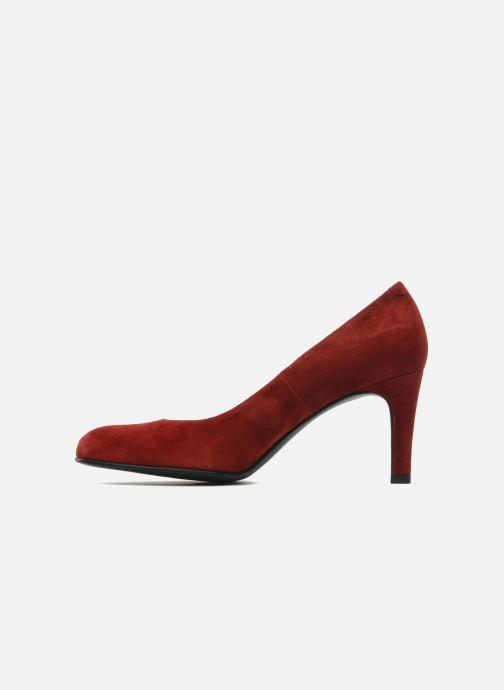 Zapatos de tacón Perlato Cid Rojo vista de frente