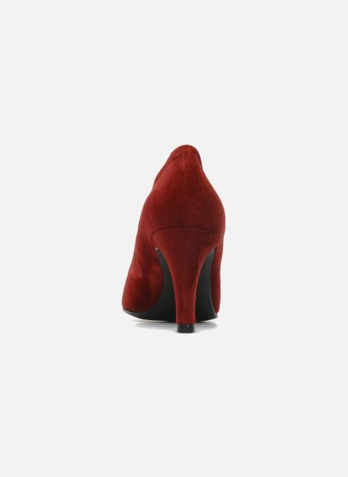 Zapatos de tacón Perlato Cid Rojo vista lateral derecha