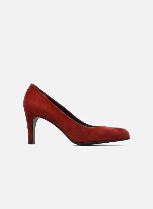 Zapatos de tacón Perlato Cid Rojo vistra trasera