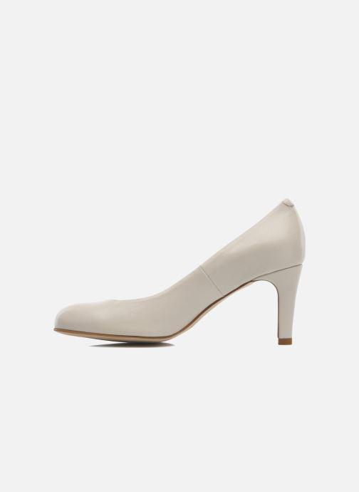 Zapatos de tacón Perlato Cid Beige vista de frente