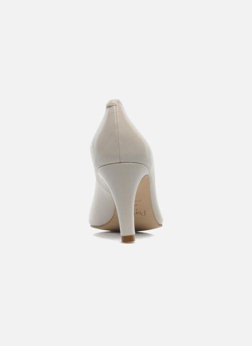 Zapatos de tacón Perlato Cid Beige vista lateral derecha