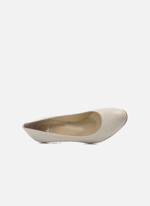 Zapatos de tacón Perlato Cid Beige vista lateral izquierda