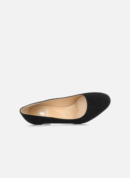 High heels Perlato Cid Black view from the left
