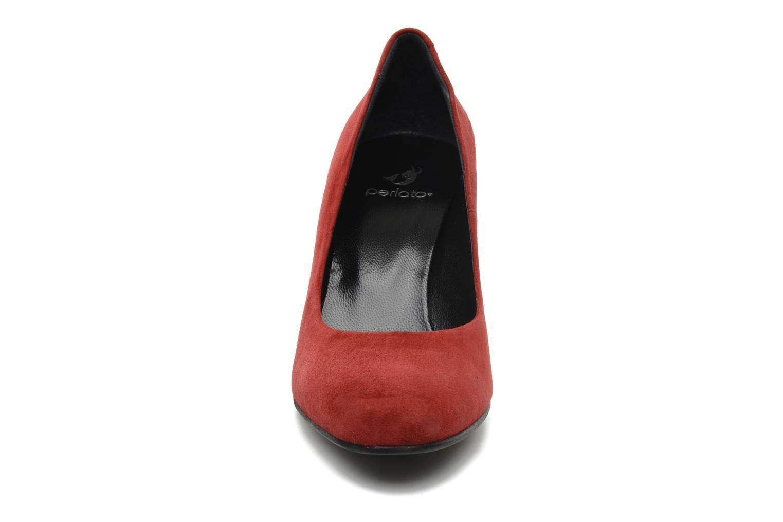 Escarpins Perlato Cid Rouge vue portées chaussures