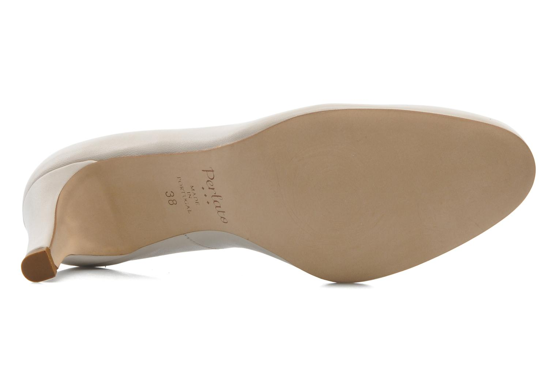 High heels Perlato Cid Beige view from above