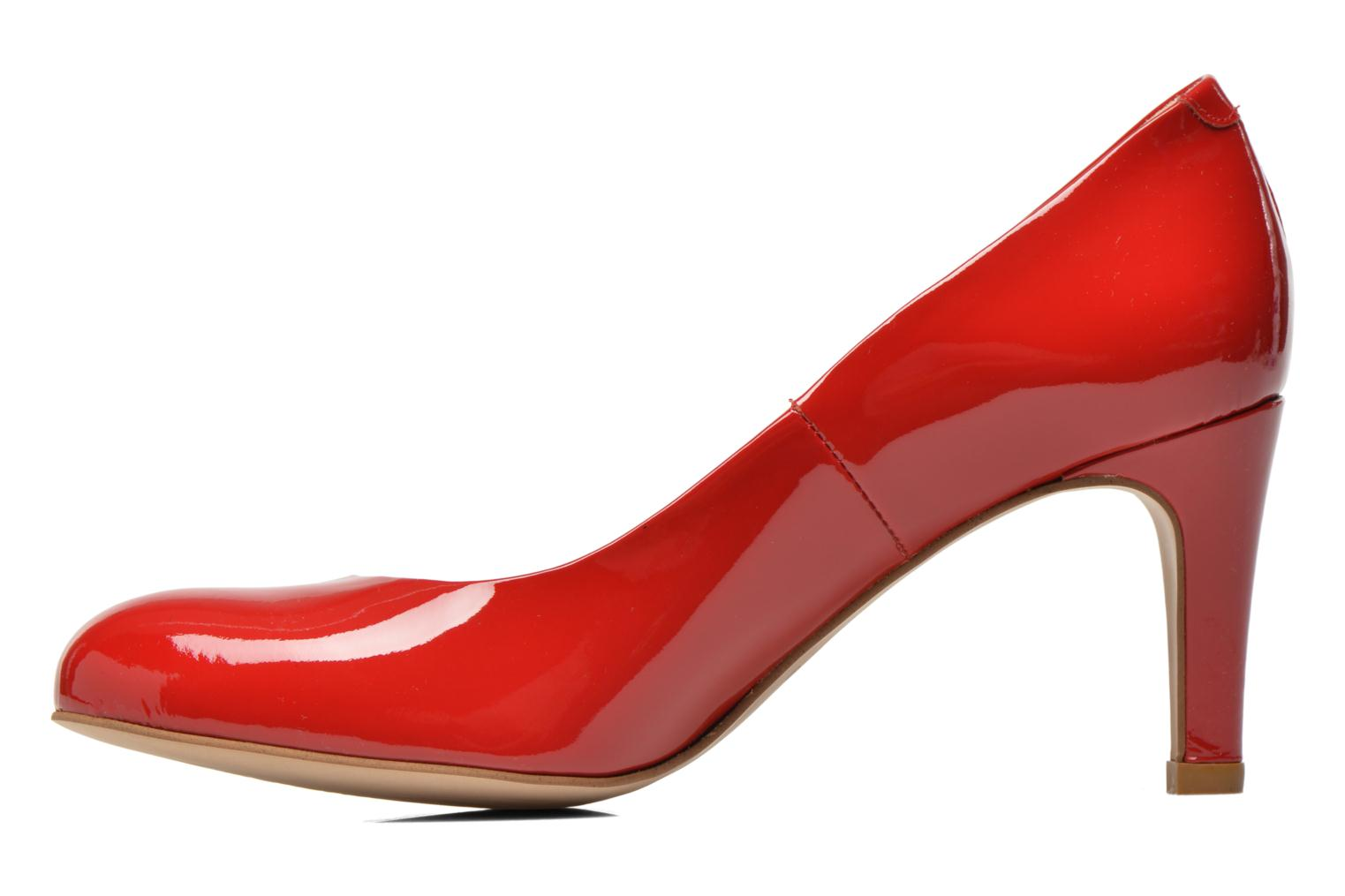 High heels Perlato Cid Red front view