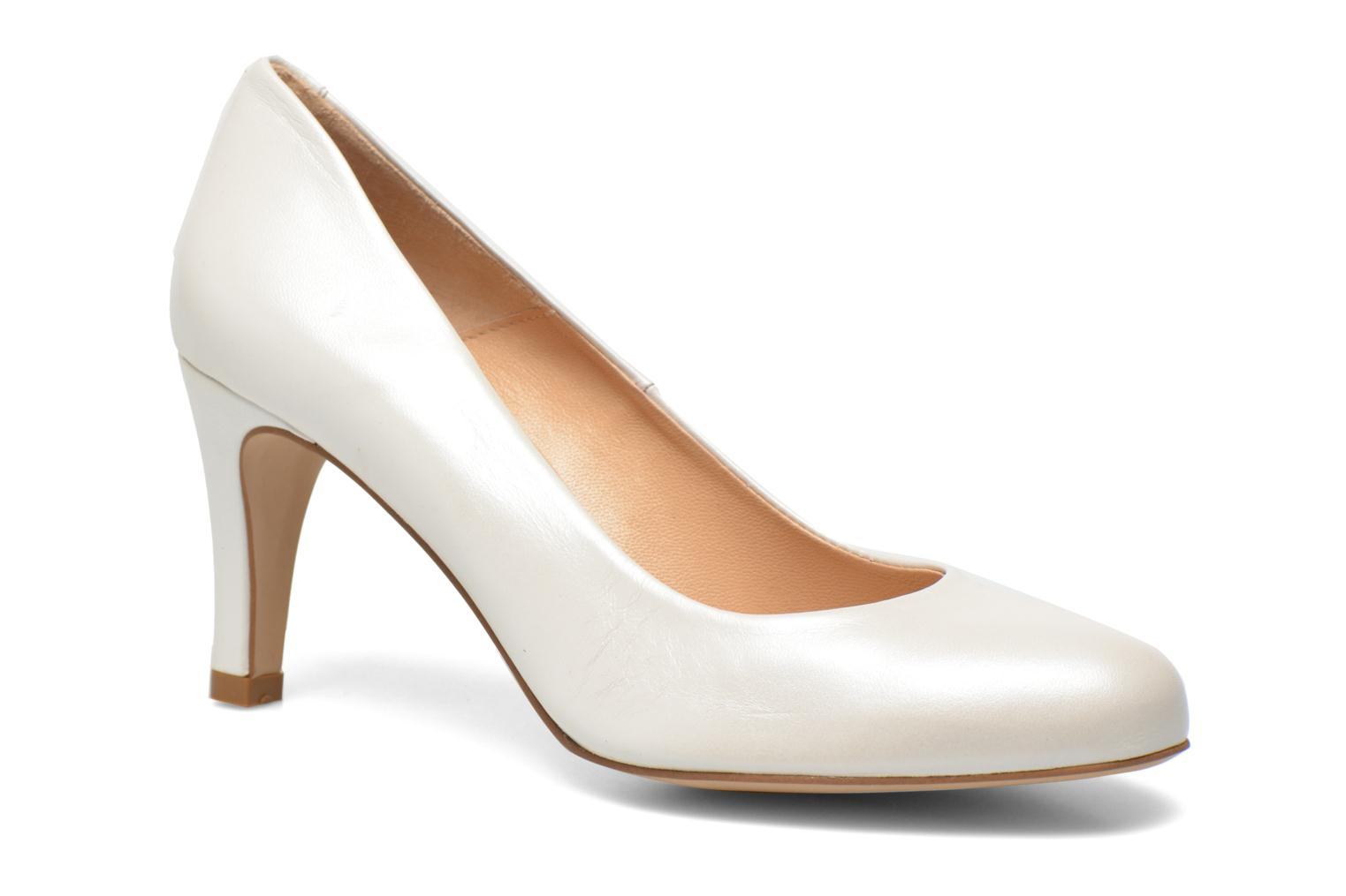 High heels Perlato Cid White detailed view/ Pair view