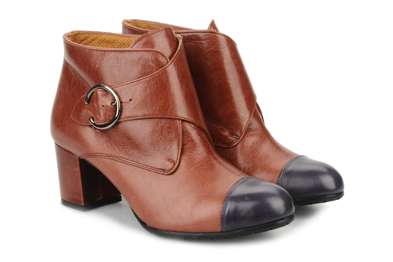 Bottines et boots Maloles Anette Marron vue 3/4
