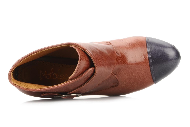 Bottines et boots Maloles Anette Marron vue gauche