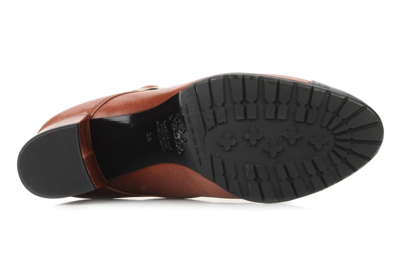 Bottines et boots Maloles Anette Marron vue haut