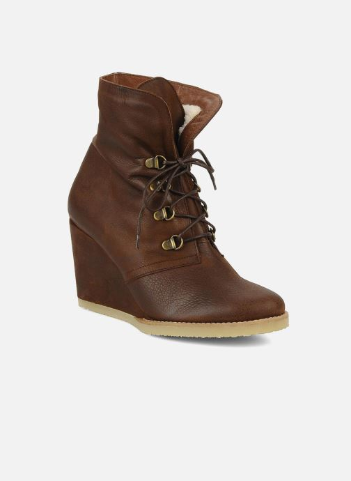 Bottines et boots Emma Go Keen Marron vue 3/4