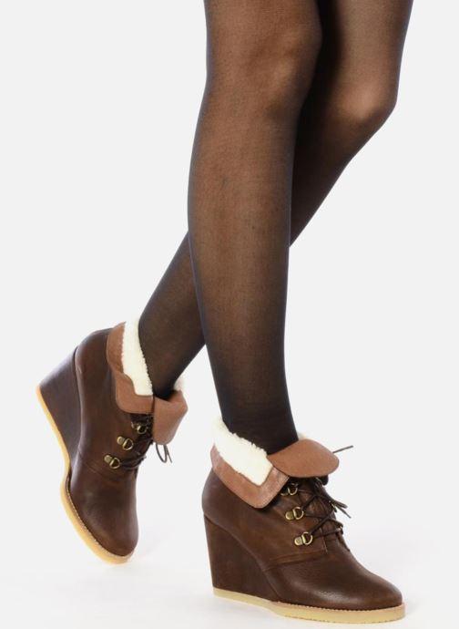 Bottines et boots Emma Go Keen Marron vue bas / vue portée sac