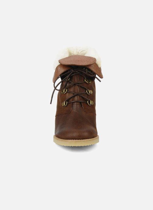 Bottines et boots Emma Go Keen Marron vue portées chaussures