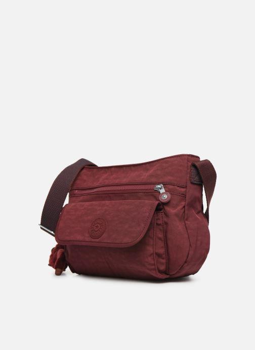 Handtaschen kipling Syro weinrot schuhe getragen
