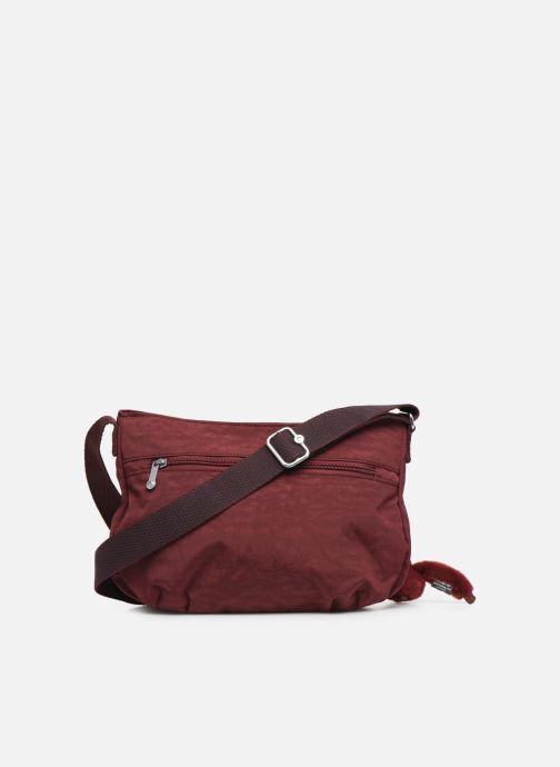 Handtaschen kipling Syro weinrot ansicht von vorne