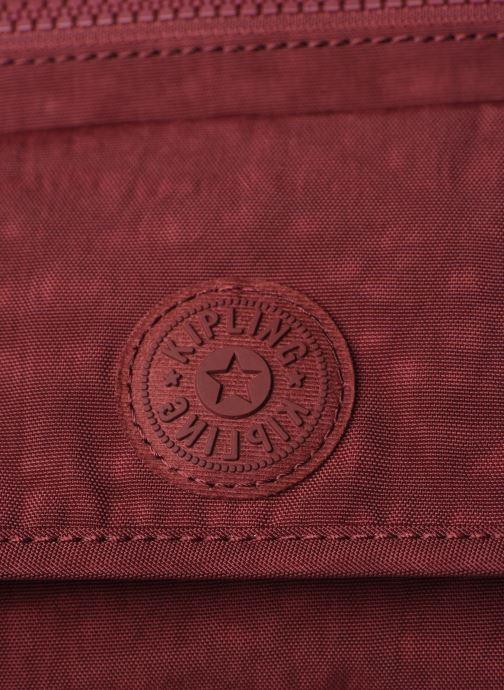 Handtaschen kipling Syro weinrot ansicht von links