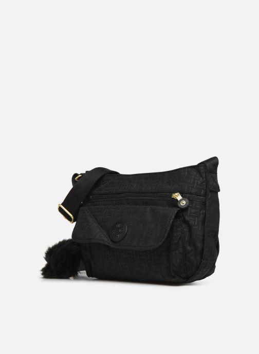 Handtaschen kipling Syro schwarz schuhe getragen