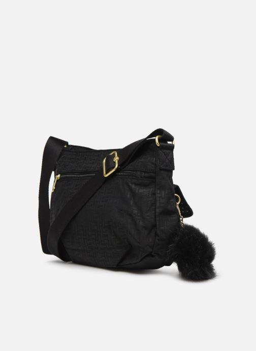 Handtaschen kipling Syro schwarz ansicht von rechts