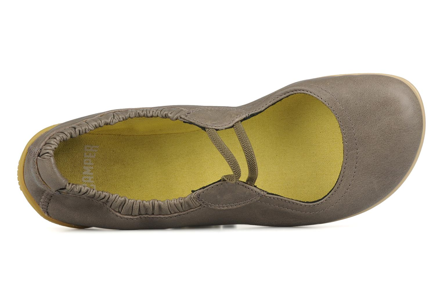 Ballet pumps Camper Peu 21184 Green view from the left