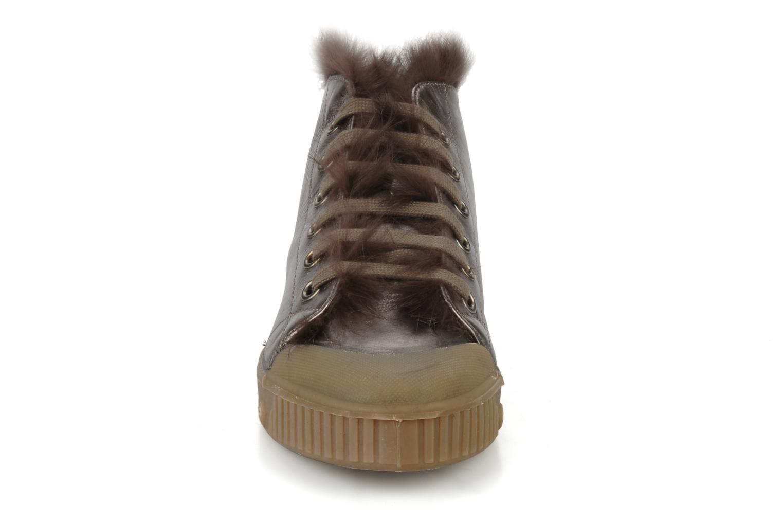 Bottines et boots Spring Court Be1 rabbit Rose vue portées chaussures