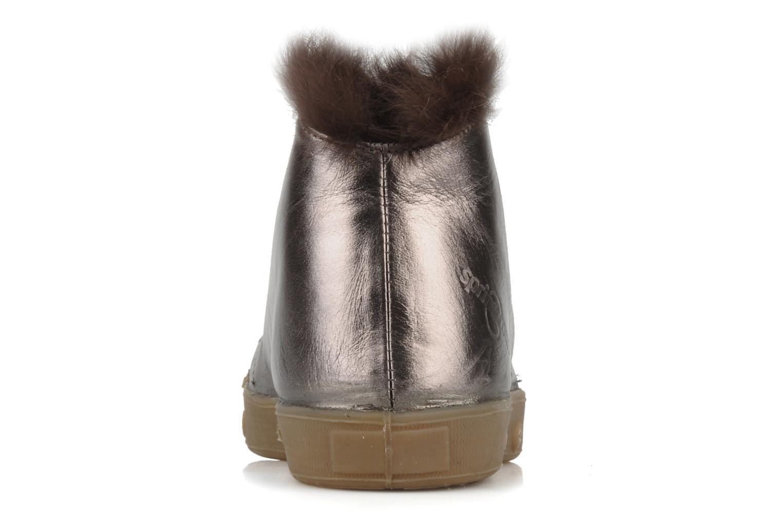 Bottines et boots Spring Court Be1 rabbit Rose vue droite