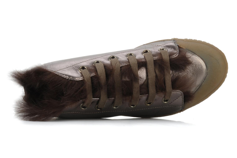 Bottines et boots Spring Court Be1 rabbit Rose vue gauche