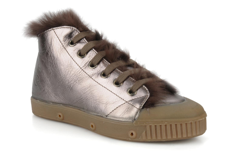 Bottines et boots Spring Court Be1 rabbit Rose vue détail/paire