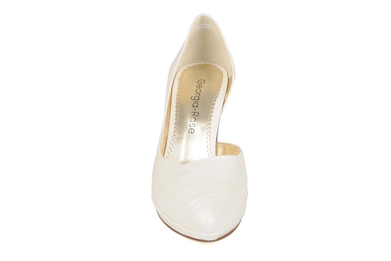 High heels Georgia Rose Louance White model view
