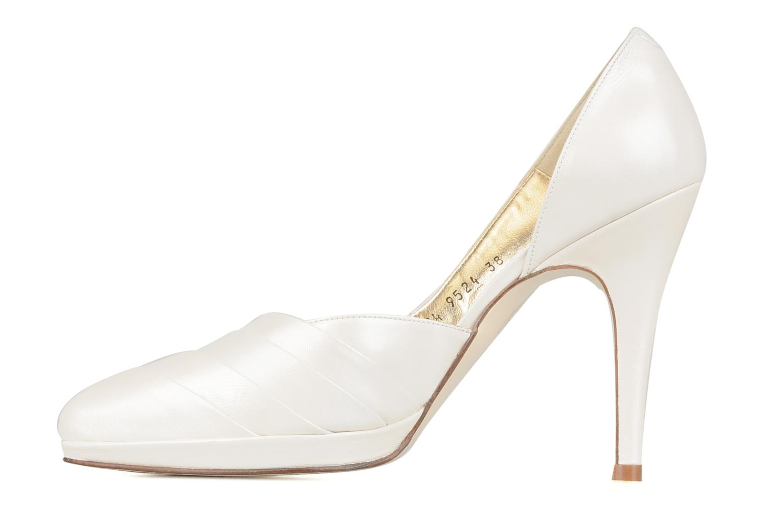 High heels Georgia Rose Louance White front view