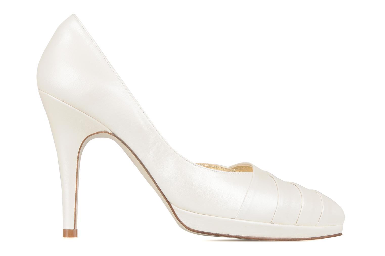 High heels Georgia Rose Louance White back view
