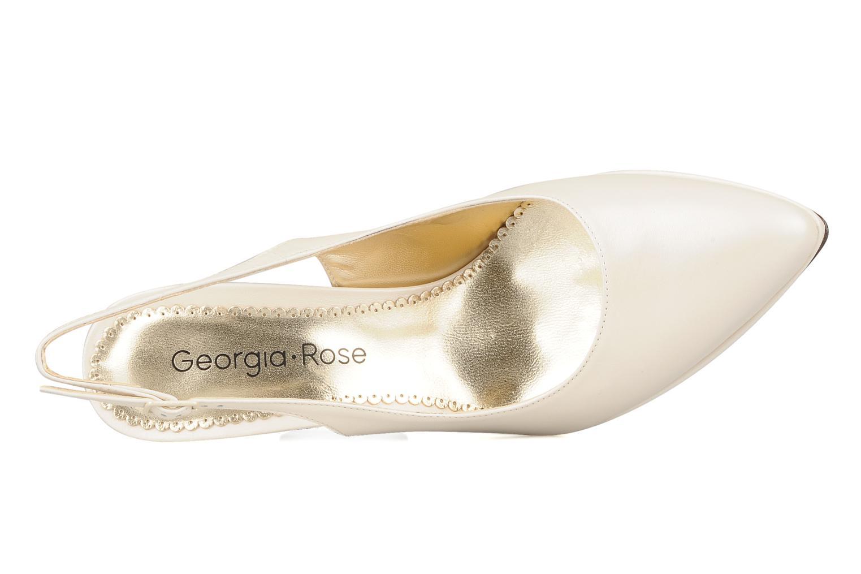 Escarpins Georgia Rose Ervili Blanc vue gauche