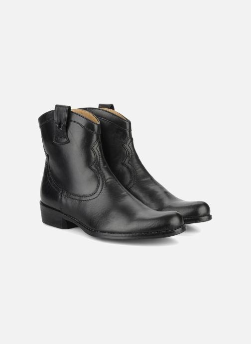 Boots & wellies Pom d Api Nevada star boots Black 3/4 view