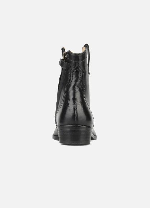 Laarzen Pom d Api Nevada star boots Zwart rechts