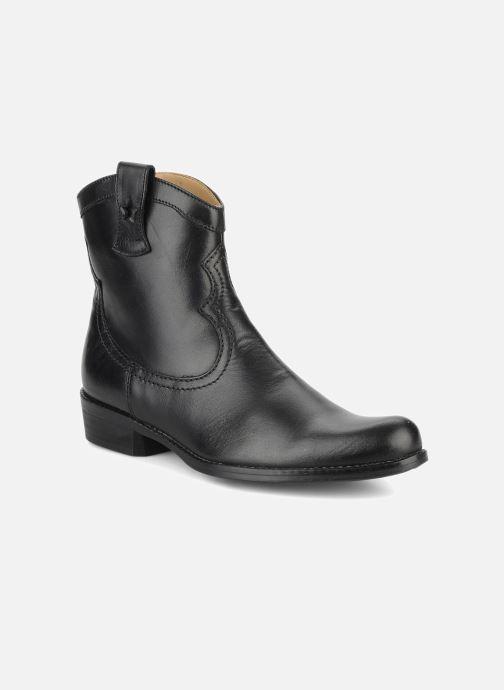feb0e2ef4cd8 Støvler   gummistøvler Pom d Api Nevada star boots Sort detaljeret billede  af skoene