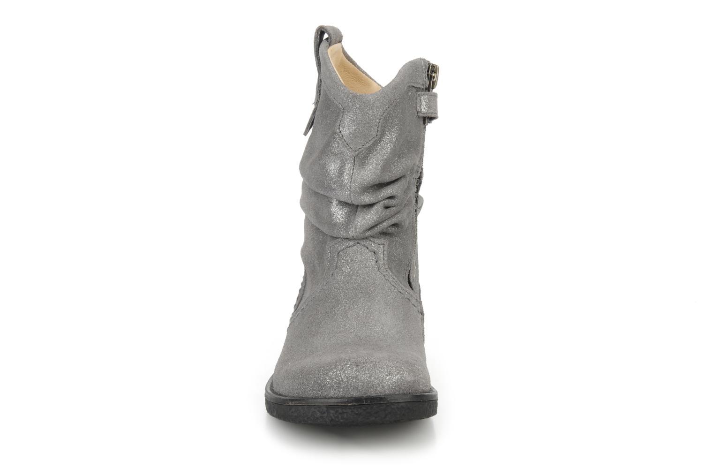 Bottines et boots Pom d Api Hike texas botte Argent vue portées chaussures