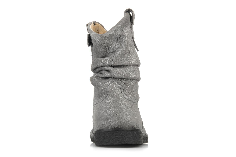 Bottines et boots Pom d Api Hike texas botte Argent vue droite