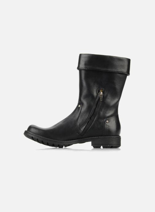 Støvler & gummistøvler Pom d Api Lina zip reverse Sort se forfra