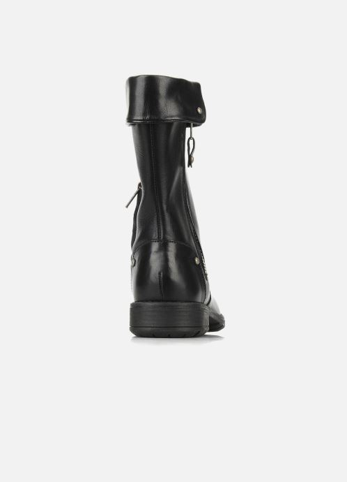 Støvler & gummistøvler Pom d Api Lina zip reverse Sort Se fra højre