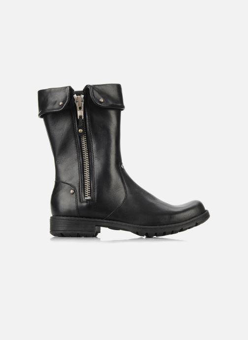 Boots & wellies Pom d Api Lina zip reverse Black back view