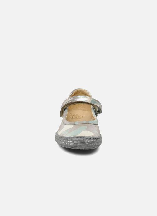 Ballerines Pom d Api School baby Vert vue portées chaussures