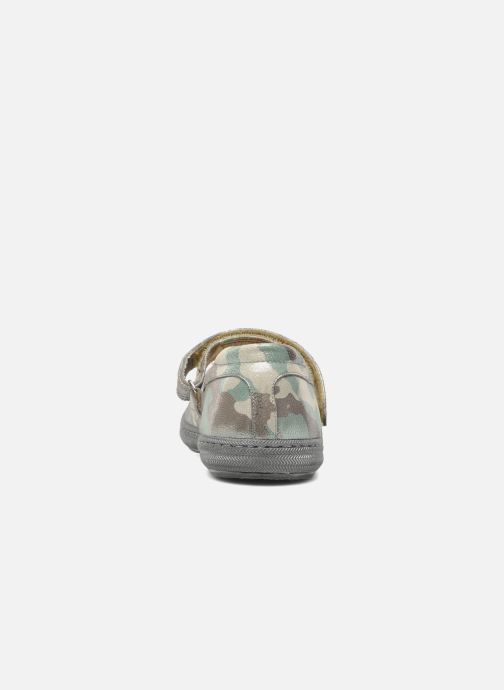 Ballet pumps Pom d Api School baby Green view from the right