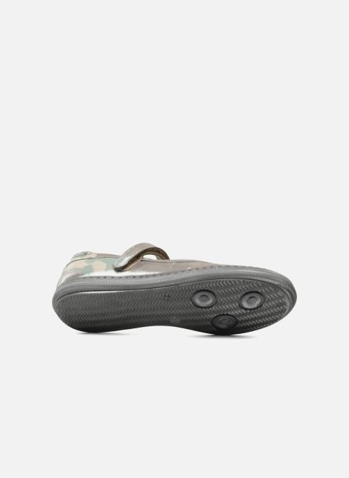 Ballet pumps Pom d Api School baby Green view from above