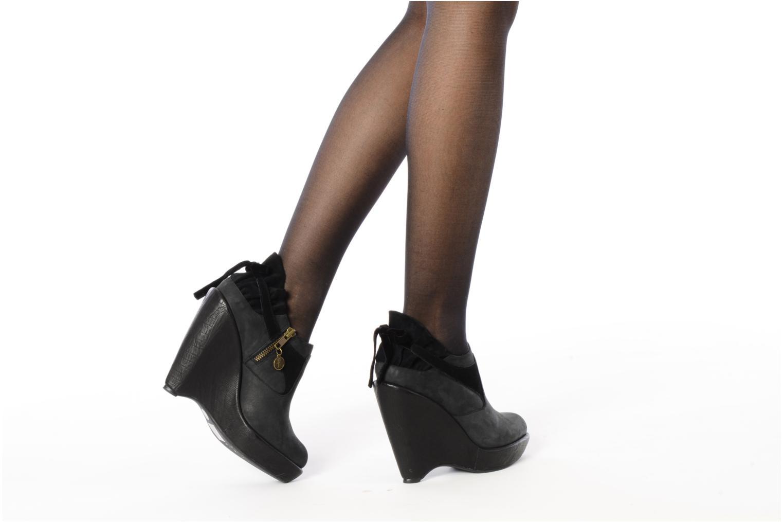 Bottines et boots Feud Brit Noir vue bas / vue portée sac