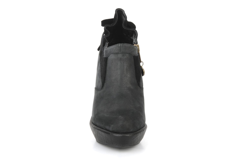 Bottines et boots Feud Brit Noir vue portées chaussures